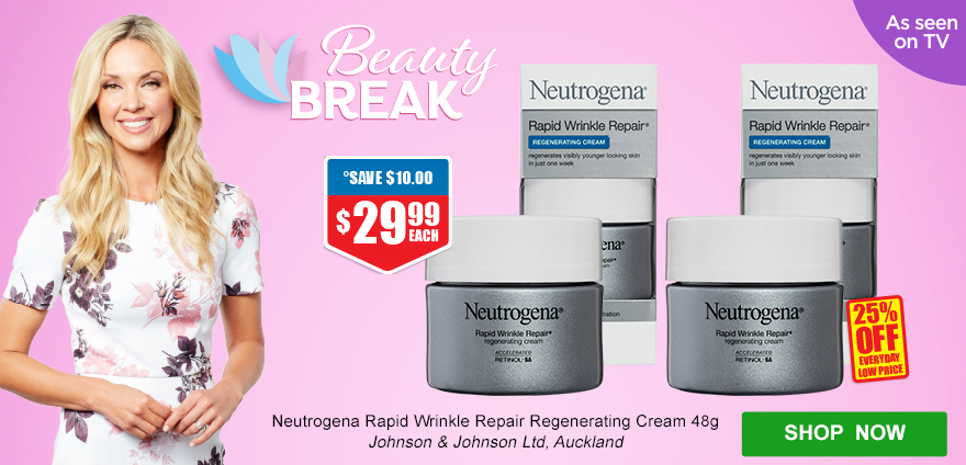 Beauty Break Neutrogena - 29Jan-25Feb