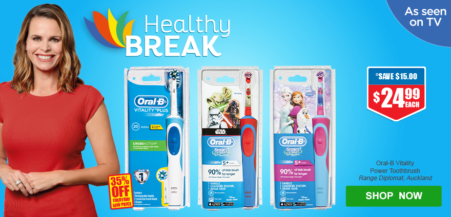 Healthy Break Oral B - 29Jan-25Feb