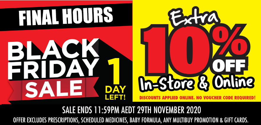 Black Friday Sale 29Nov