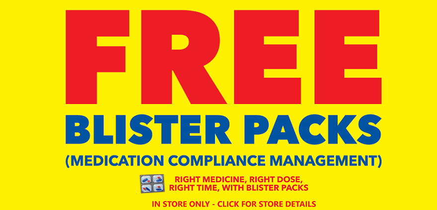 Free Blister Packs