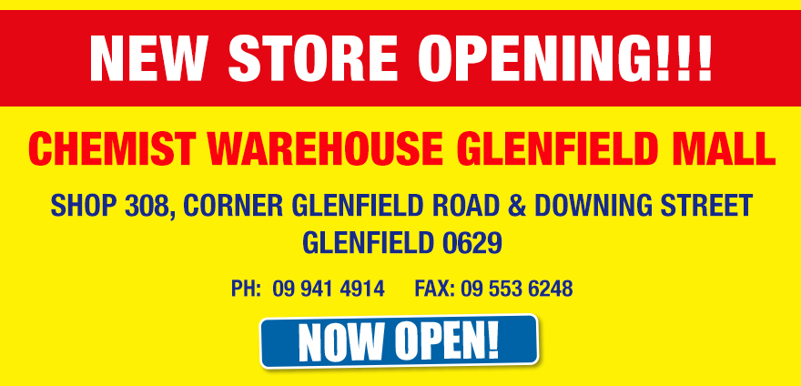Glenfield Store Opening